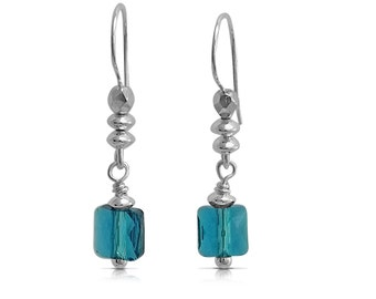 Crystal Earrings Everyday Earrings, Boho Jewelry Everyday Earrings, Gift for Women Dangle Earrings Drop Earrings