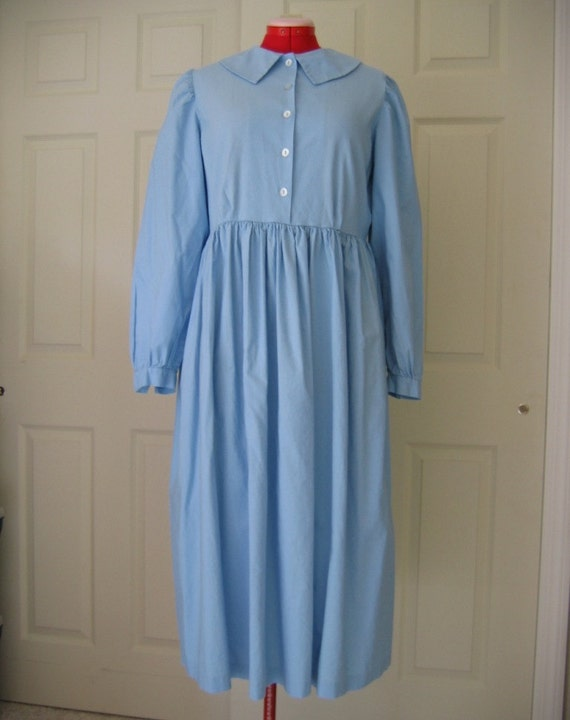 Ladies Prairie Dress $70.00 AT vintagedancer.com