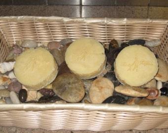Handmade body bar soap unscented-shea butter-organic-artisan-skin loving-moisturizing-clean-natural-vegan-