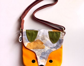 Sling Purse - The Fantastic Fox Sling (Gray Sunset)