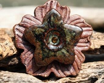 Handmade Ceramic Shank Button