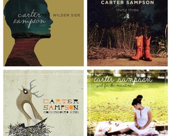 Carter Sampson CD Collection! 3 CDS & a Digital Download!