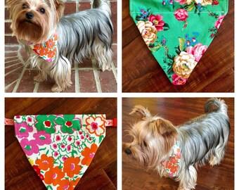 Custom Reversible Pet / Dog Bandana