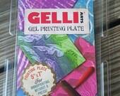 Gelli Plate 5-7 unused Studio Destash