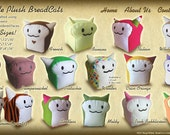 Lil BreadCat Plush Collectible by BreadCat made in the USA