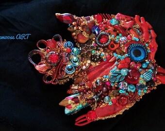 The Fantastic Bead Mosaics© Mini SEAlife Series The Coralfish