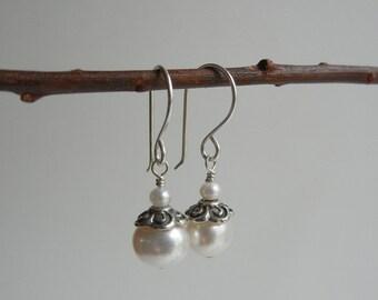 Pearl Guinevere Earrings II