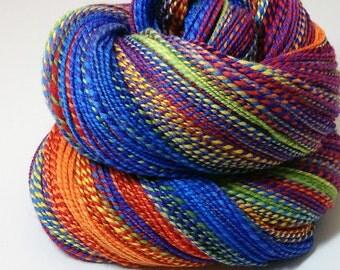 Handspun Yarn - Rainbow - 400 Yards