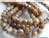25% OFF Summer Sale English Cut Czech Glass Beads 5mm Earth Tone English Cut Assortment - 50 (G - 114)