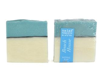 Beach House Artisan Soap - Handmade Soap - Vegan and Cruelty Free - Sustainable Palm