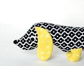 Wiener Dog Plush, Wiener DogSoftie, Plush Dachshund for Kids, Stuffed Doxie WILBUR