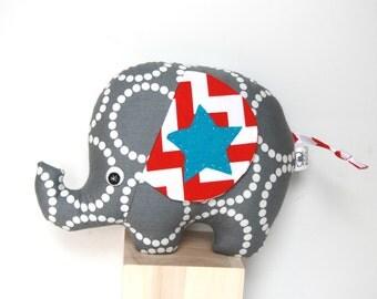 Plush Elephant, Unique Baby Gift, Stuffed Elephant, Elephant Softie, Baby Toy