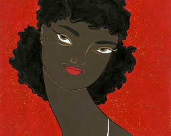 Gold Dust Woman 8x10 print