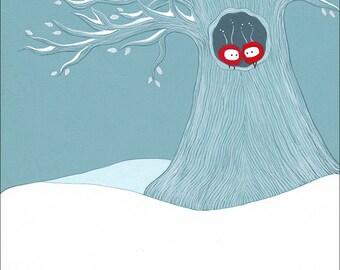 snowbound - print