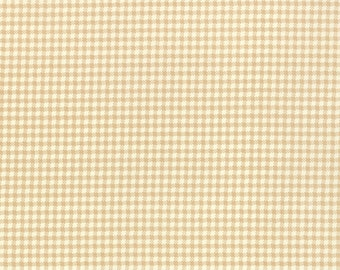 Strawberry Fields Revisited - Picnic in Sand (tan): sku 20263-17 cotton quilting fabric by Fig Tree and Co. for Moda Fabrics - 1 yard