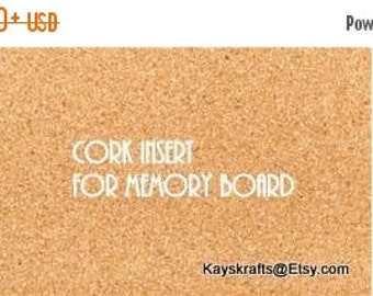 SWEETHEART SALE Add A Cork Insert To Your Memory Board French Memo Board To Use As A Cork Memory Board