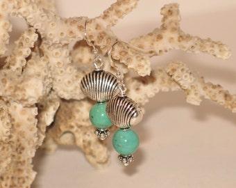 Sterling & Chrysophase Earrings