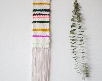 That Movie that has a Horse Jump off a Diving Board | One of a Kind Handmade Weaving by Jackie Dives