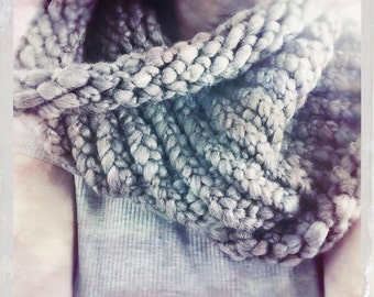 Super Thick Dusty Neautral Cowl