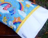 Classic CARE BEAR, Travel/Toddler Pillowcase, child's bedroom bedding