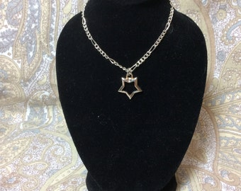 """Star necklace fits American Girl Doll 18"""""""