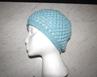 Crochet Adult Puff Hat