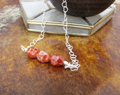 Reserved Listing for sueted8561  Fire Agate Pendant, Orange Agate Necklace, Fire Agate Necklace,