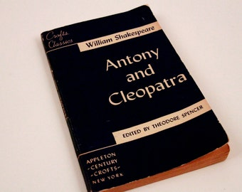Antony and Cleopatra - Crafts Classics Play - William Shakespere - Vintage ~ The Pink Room ~ 161212