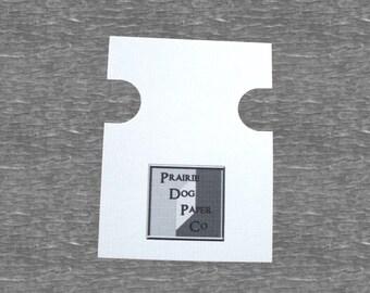 Bracelet Cards, set of 30, printed necklace cards,  necklace cards, Wrist Band card, printed jewelry cards