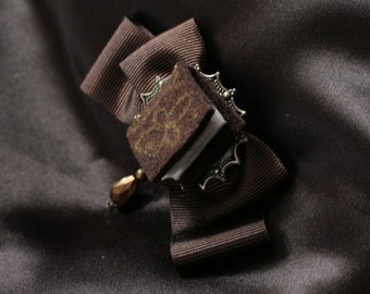 TOME Miniature Book Hair Ribbons