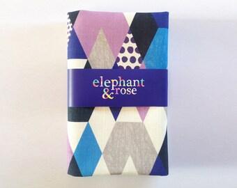 Geometric linen/cotton tea towel SALE 40% off!