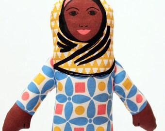 SALE - AFRA Muslimah Doll Sewing Kit DIY