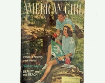 Vintage American Girl Magazine, July 1965 Issue, Girl Scouts, Girl Scouts of America Magazine
