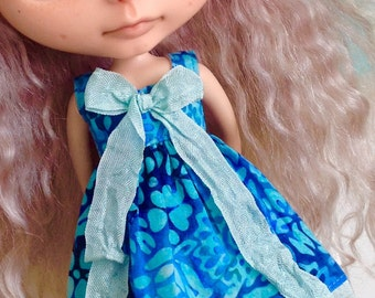 Dress for Blythe - Beautiful Batiks #12