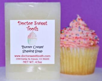 Vanilla Butter Cream Shaving Soap 4.5oz