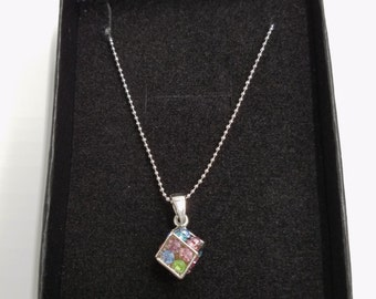 Dice Necklace for little girls