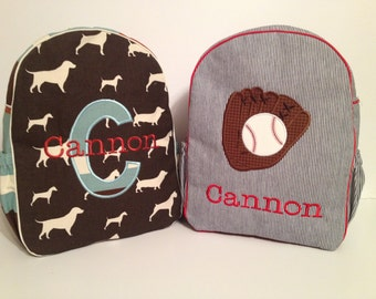 Custom Create the Perfect Backpack for a Toddler/Preschooler