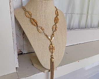 FREE SHIPPING Vintage Park Lane Goldtone Chunky Chain Necklace