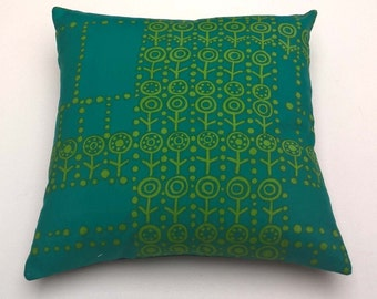 Vintage Textile Fabric Cushion.