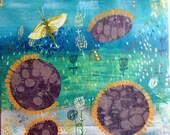 Pollinators an original painting by Susan Schwake