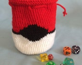 Pokeball Dice Bag/Pouch