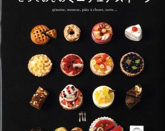 My Special Miniature Clay Sweets - Japanese Craft Book