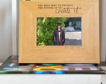 Create Your Future Inspirational Quote Frame