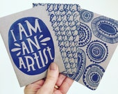 Lisa Congdon I Am an Artist Notebook Set
