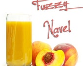 Fuzzy Navel handmade vegan soap with coconut milk deeply discounted
