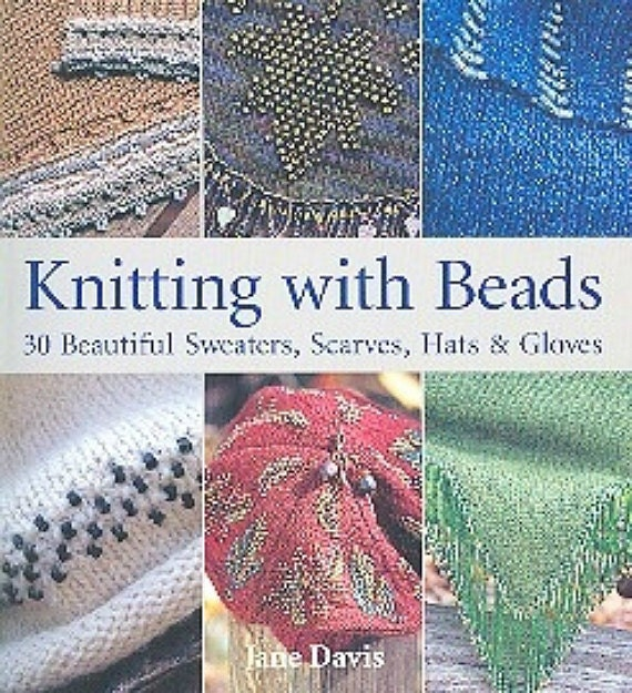 Knitting With Beads Book : Book knitting with beads by jane davis