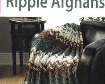 The Best of Mary Maxim Ripple Afghans ~ Crochet Book