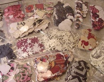 CLEARANCE over 5,000 assorted Die Cut Pieces Cuts various shapes, colors, paper, patterns, etc. - art craft scrapbook collage supply Lg lot
