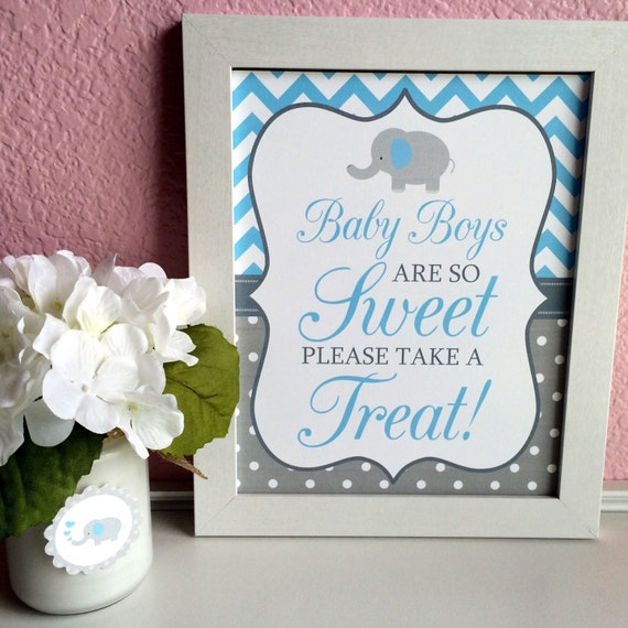 baby boys are so sweet please take a treat 5x7 8x10 printable