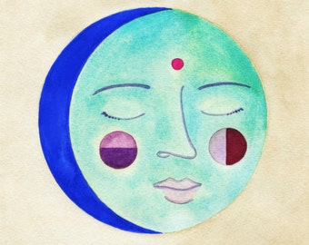 Blue Moon // archival print